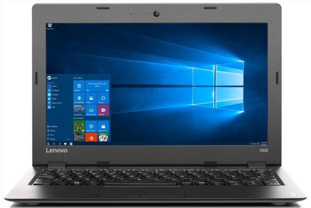 """IdeaPad 100S 11,6""""HD/Z3735F/32GB/2G/INT/Win 10 stříbrný (80R200BGCK) 80R200BGCK"""