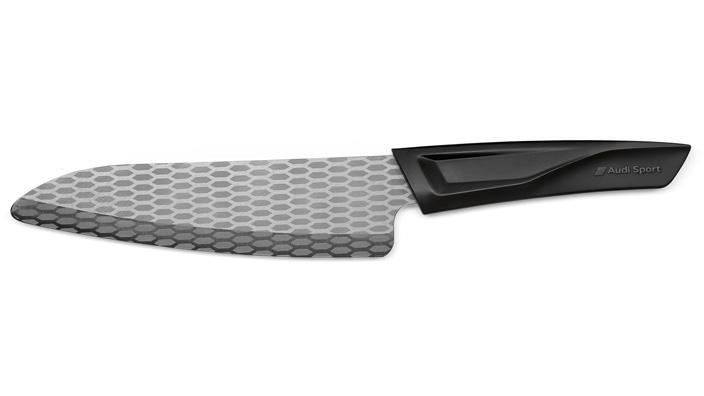 Kuchyňský nůž Kyocera Audi Sport, 17 cm, černý
