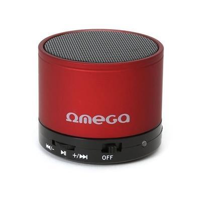 Bluetooth reproduktor 3W, FM, micro SD, červený OG47R