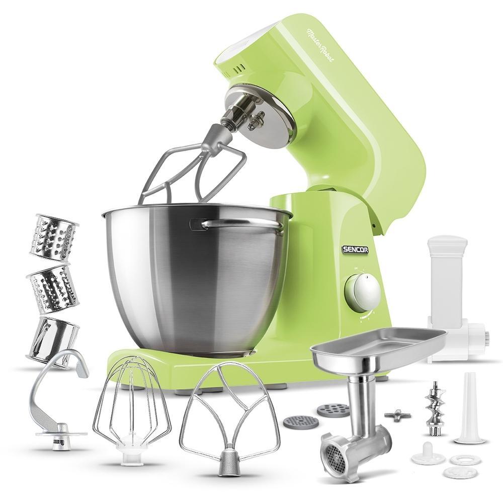 Kuchyňský robot SENCOR STM 47GG - zelený