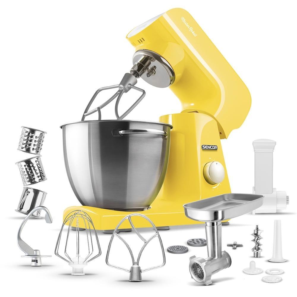Kuchyňský robot SENCOR STM 46YL - žlutý