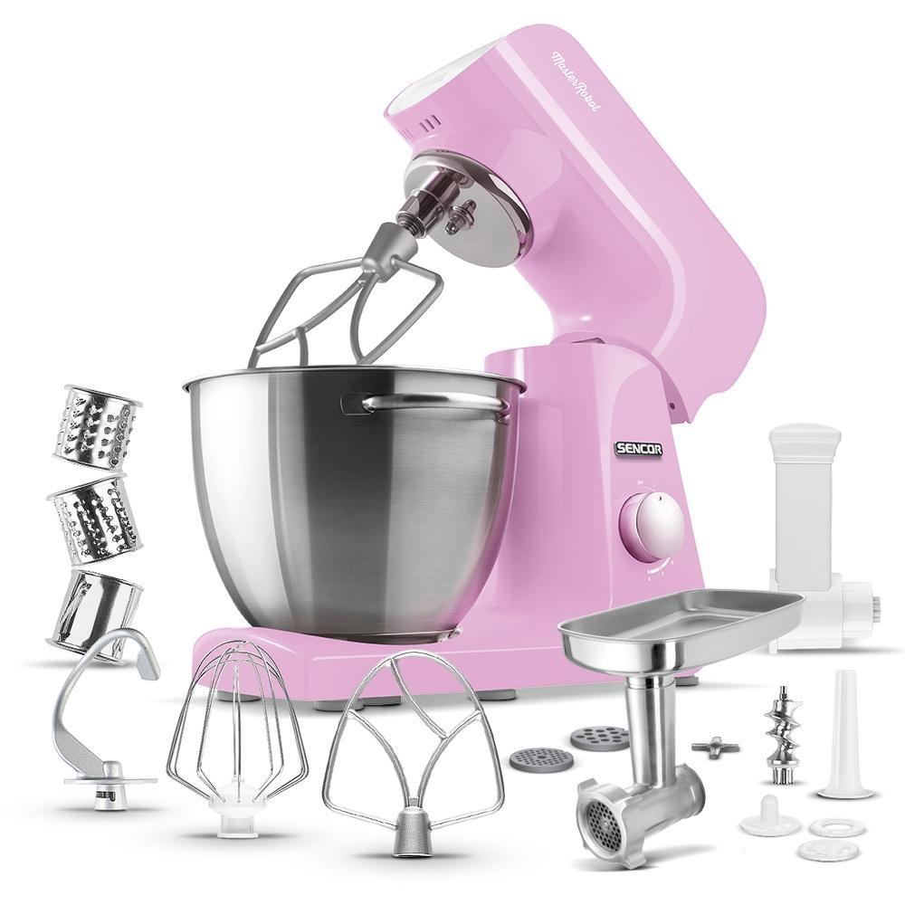 Kuchyňský robot SENCOR STM 48RS - růžový