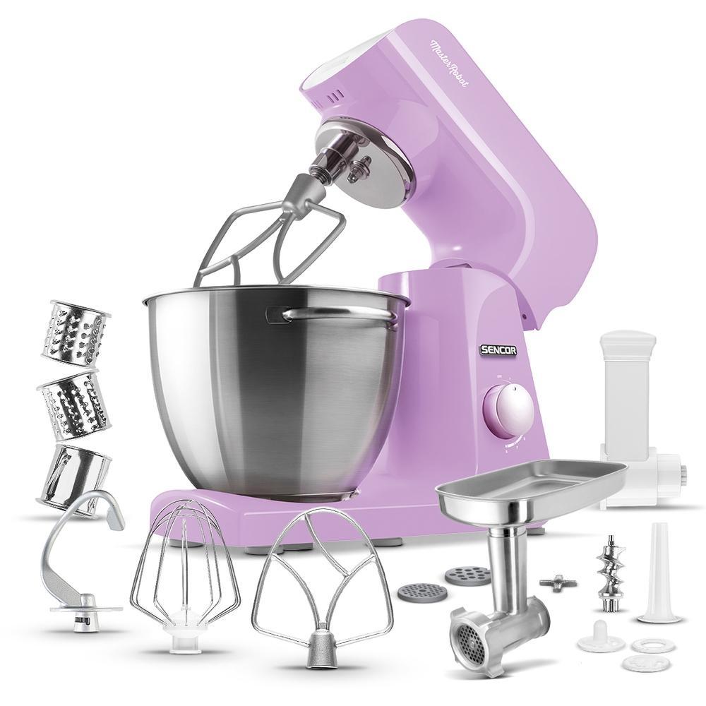 Kuchyňský robot SENCOR STM 45VT - fialový
