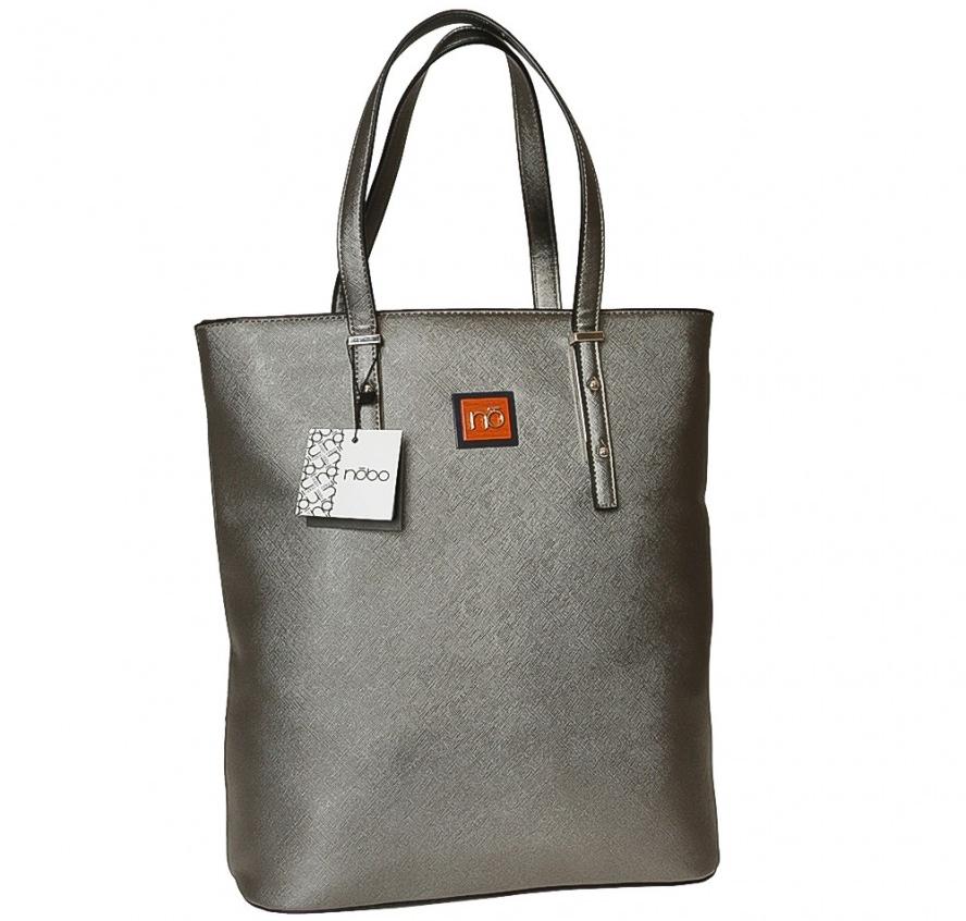 Shopper Kabelka Nobo 0431 J16, šedá