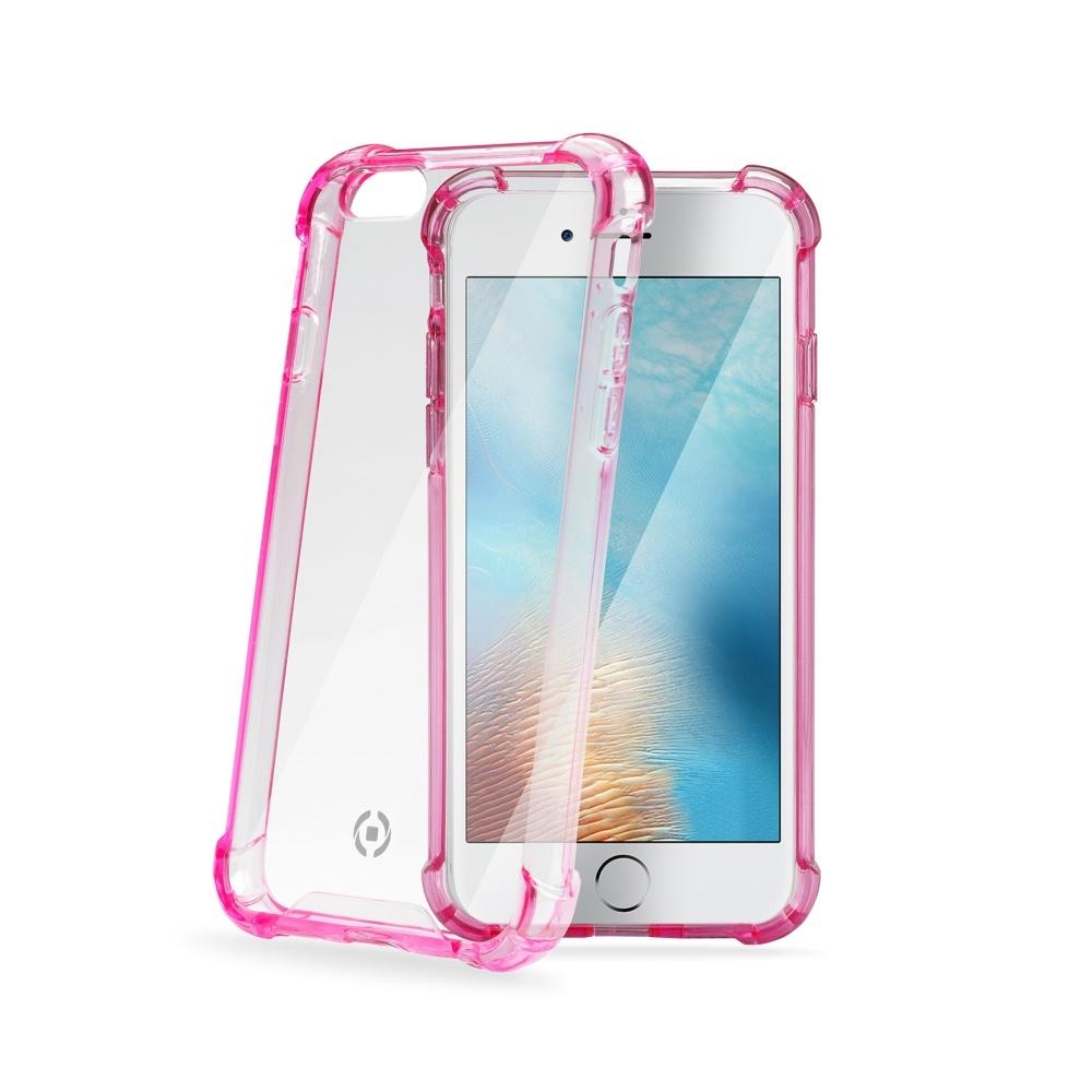 Zadní kryt Celly Armor pro Apple iPhone 7 - růžový ARMOR800PK