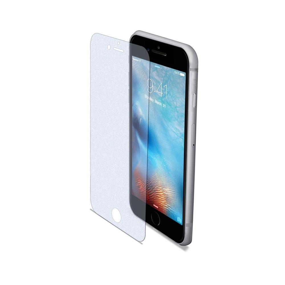 Ochranné tvrzené sklo CELLY Glass antiblueray pro Apple iPhone 6/6S/7, matné GLASS800M
