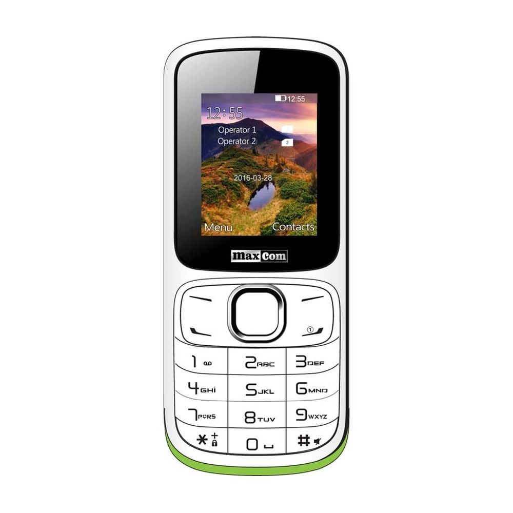 Mobilní telefon Maxcom MM129, DualSIM, bílý MM129