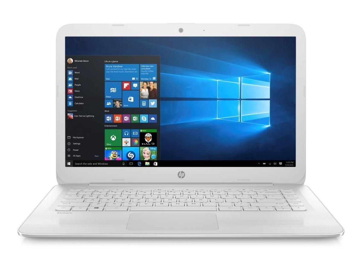 Trhák HP Stream 14-ax003nc N3060/4GB/32GB/W10-white Z3C50EA#BCM