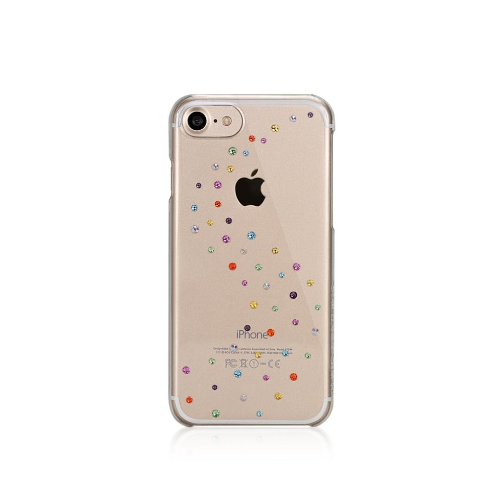 Zadní kryt Bling My Thing Milky Way Cotton Candy pro Apple iPhone 7/8 s krystaly Swarovski® IP7-MW-CL-CCD
