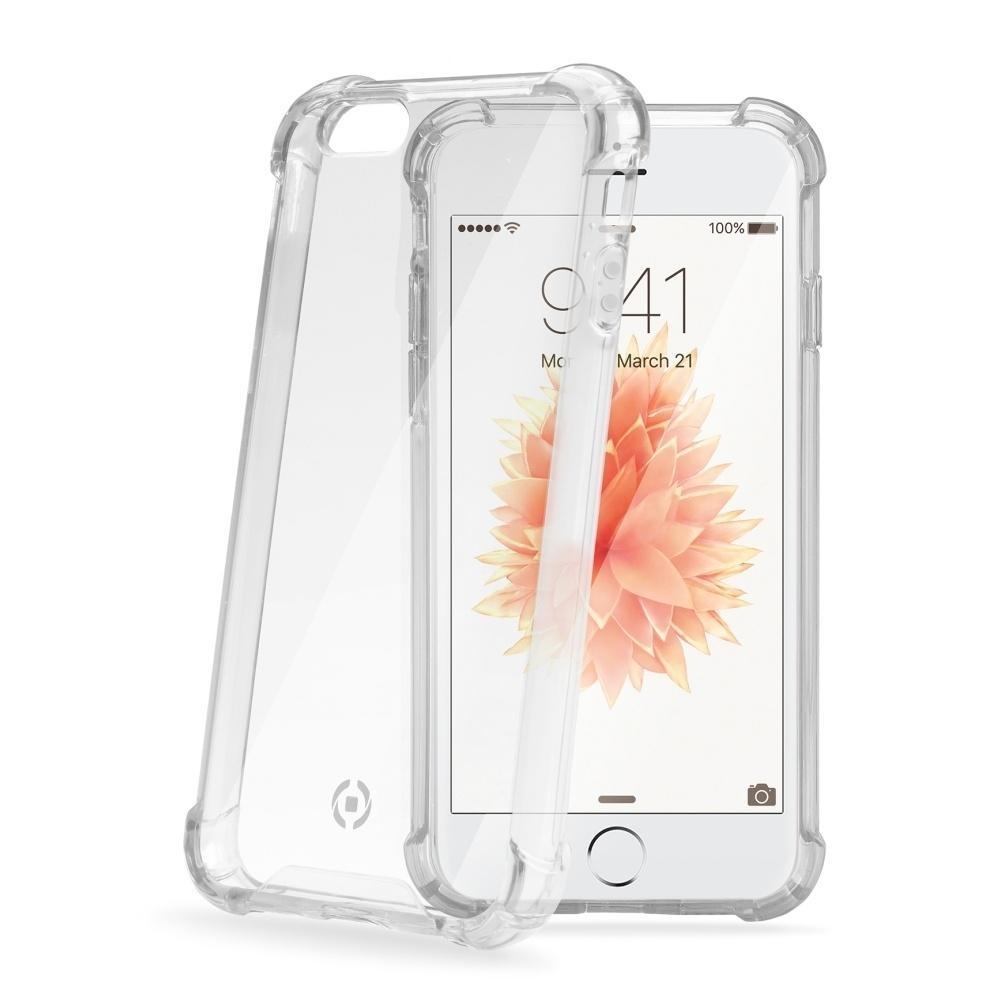 Zadní kryt Celly Armor pro Apple iPhone SE/5/5S - bílý ARMOR185SEWH