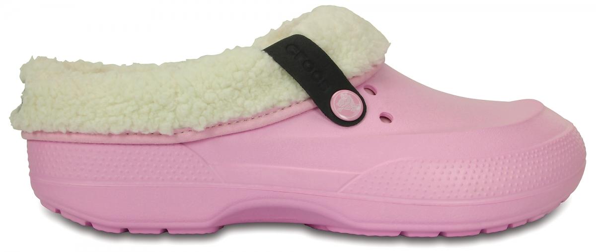 Crocs Classic Blitzen II Clog - Ballerina Pink/Oatmeal, M4/W6 (36-37)