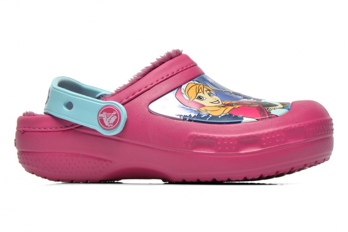 Crocs Creative Frozen Lined Clog - Berry, C10/C11 (27-28)