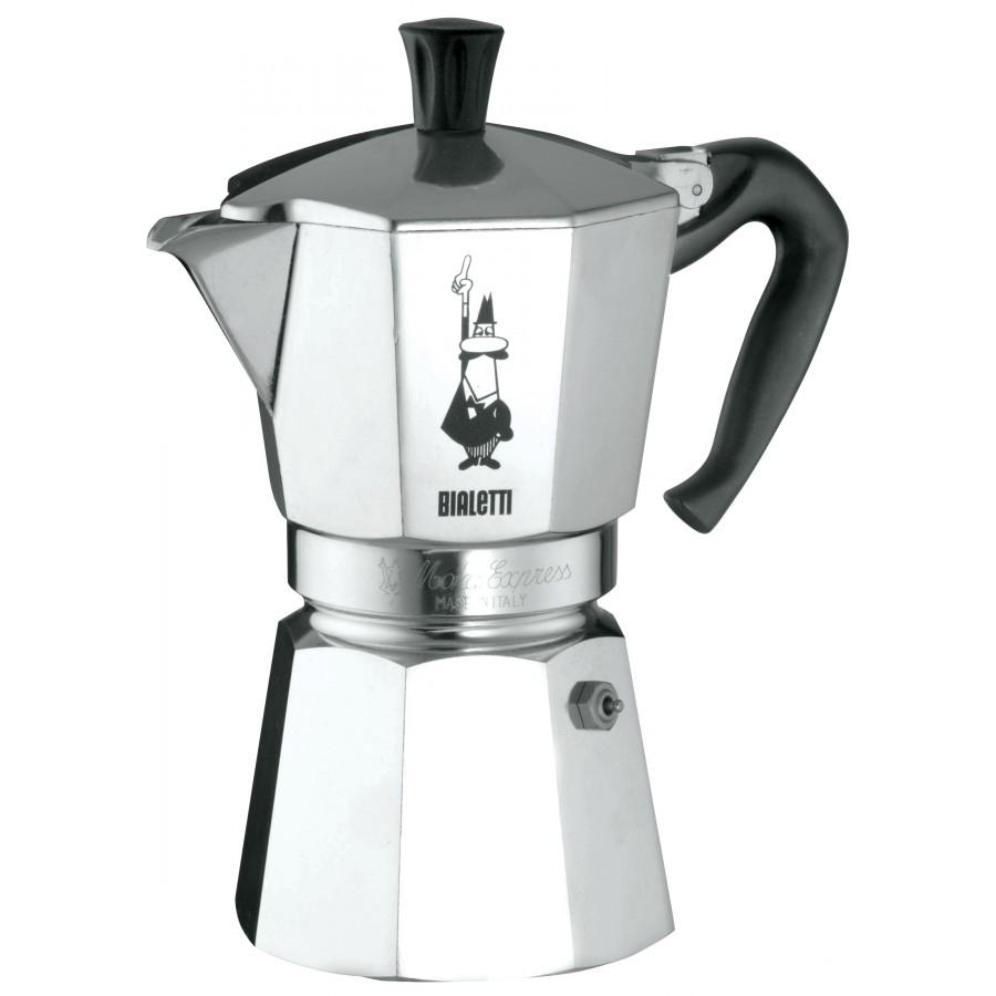 Bialetti hliníkový kávovar Moka Express - 6 šálků