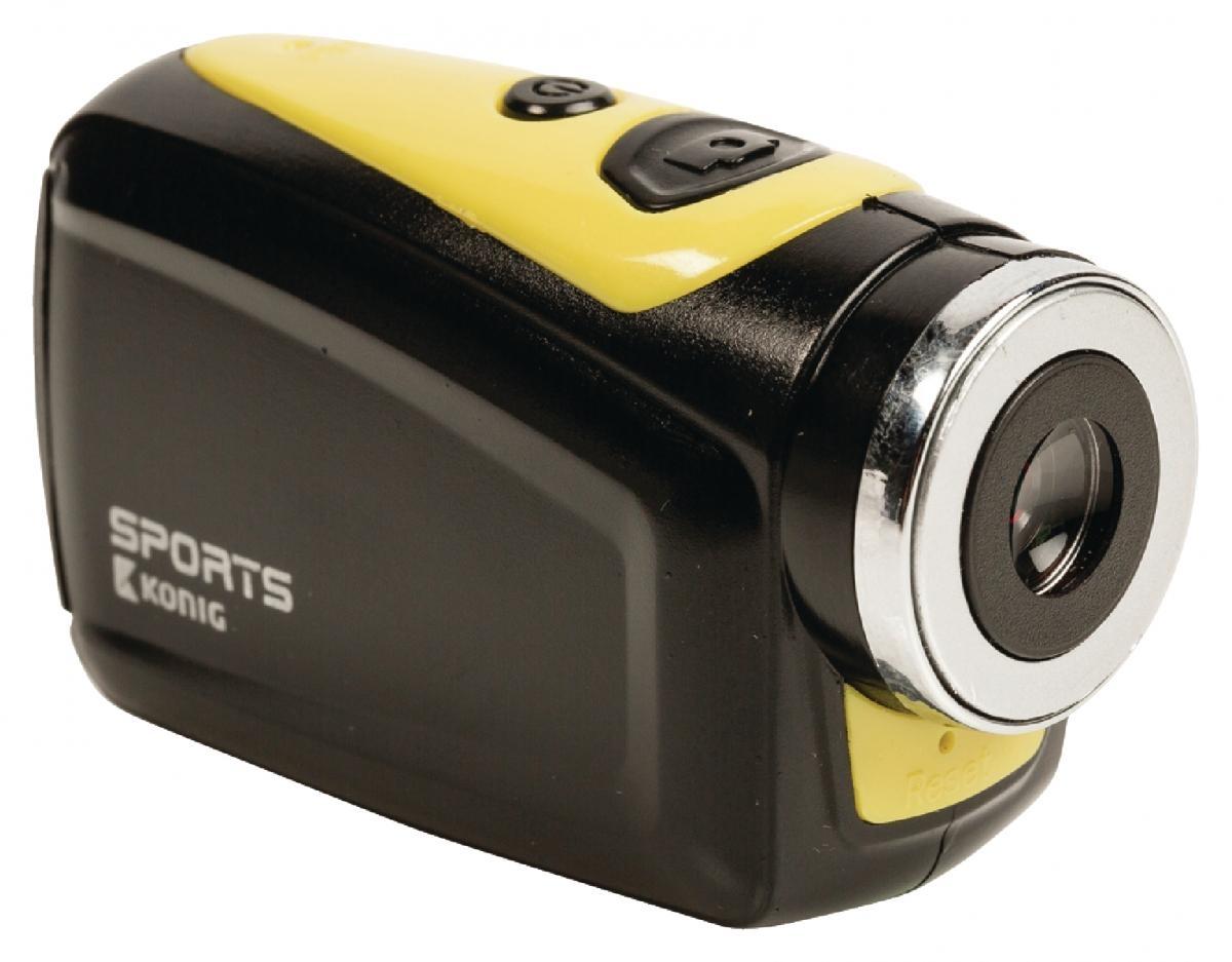 Akční HD kamera König CSAC100 - 720p s vodotěsným pouzdrem