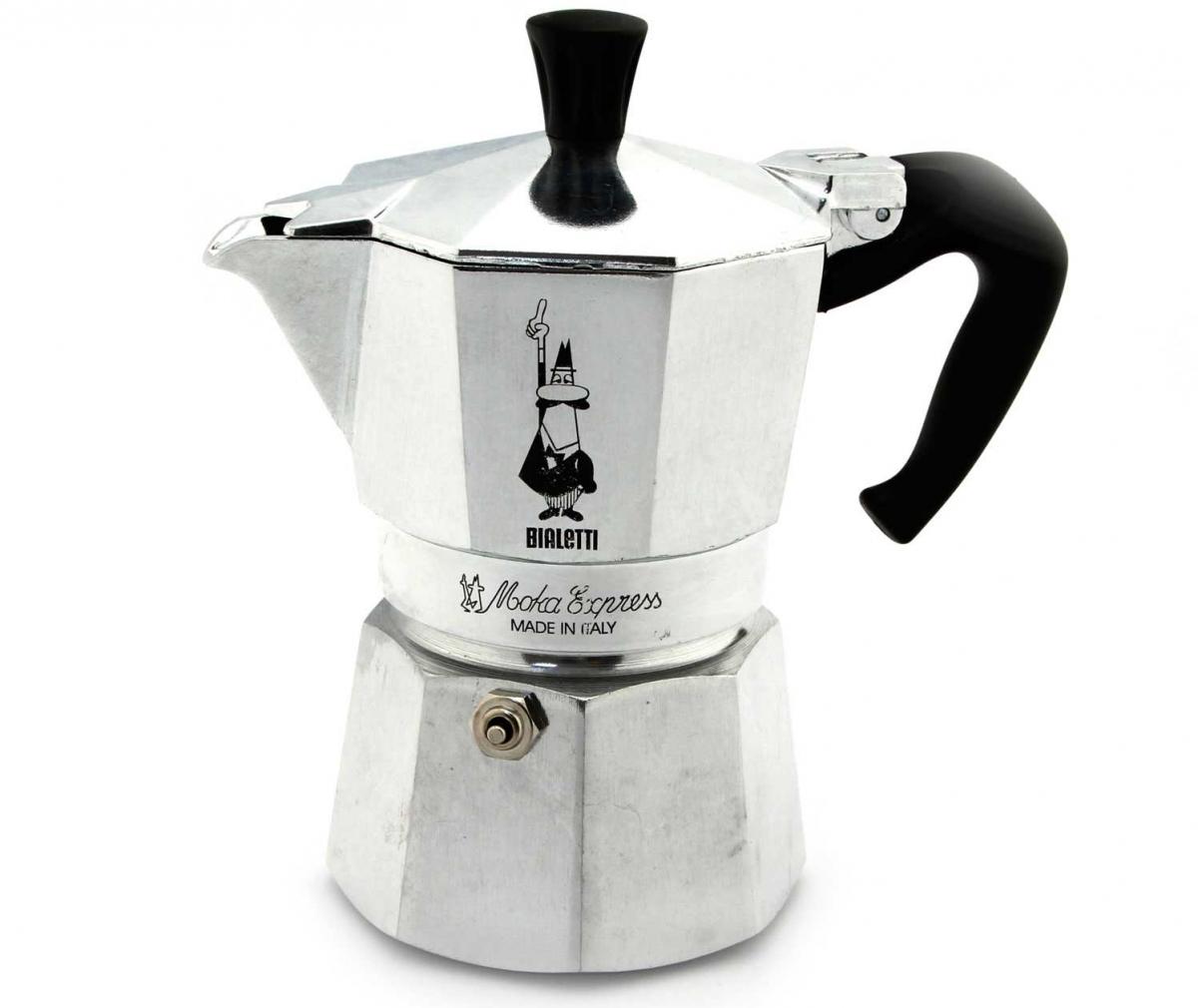 Bialetti hliníkový kávovar Moka Express, 2 šálky