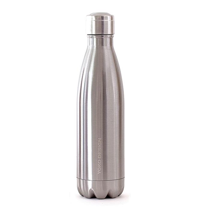 Yoko Design termolahev Isothermal Bottle, 500 ml - stříbrná