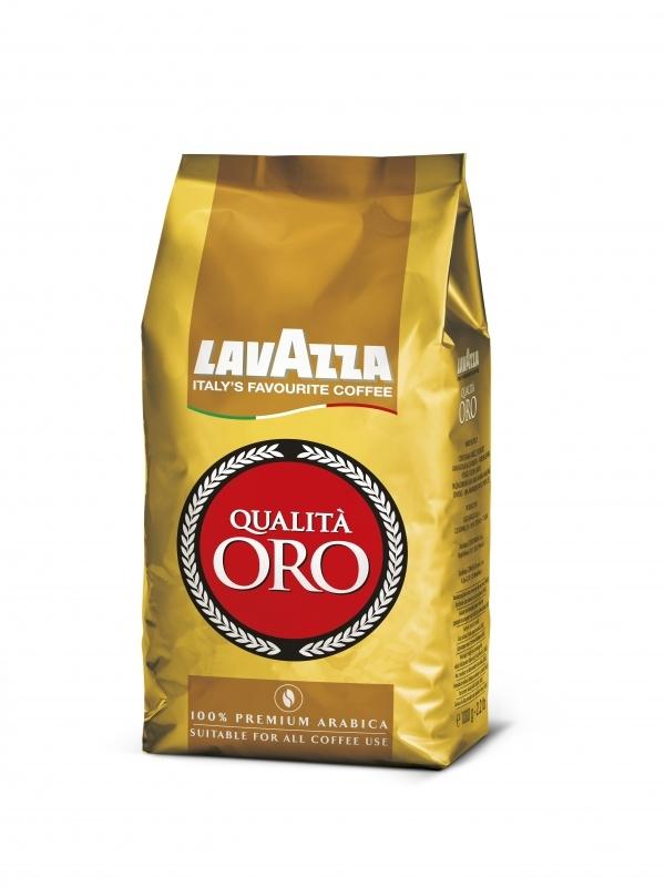Lavazza Qualitá Oro zrnková káva, 1 kg