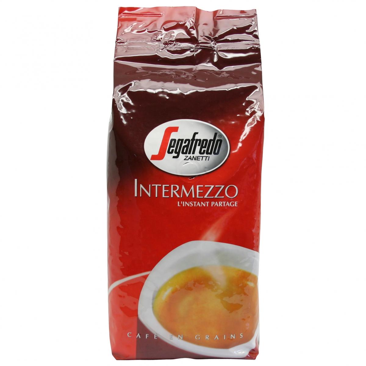 Segafredo Intermezzo zrnková káva, 1 kg