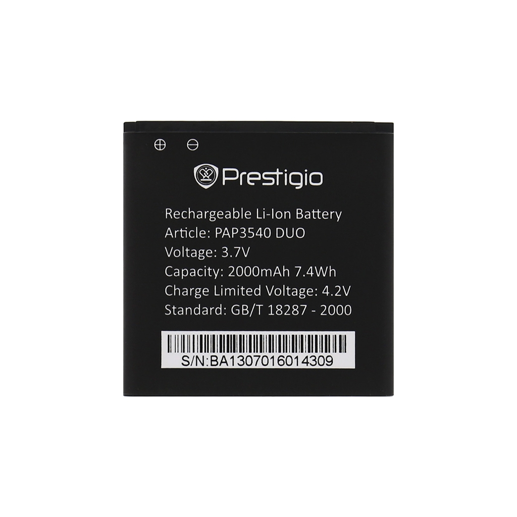 Prestigio Baterie 2000mAh Li-Ion pro Multiphone 3540DUO (Bulk)