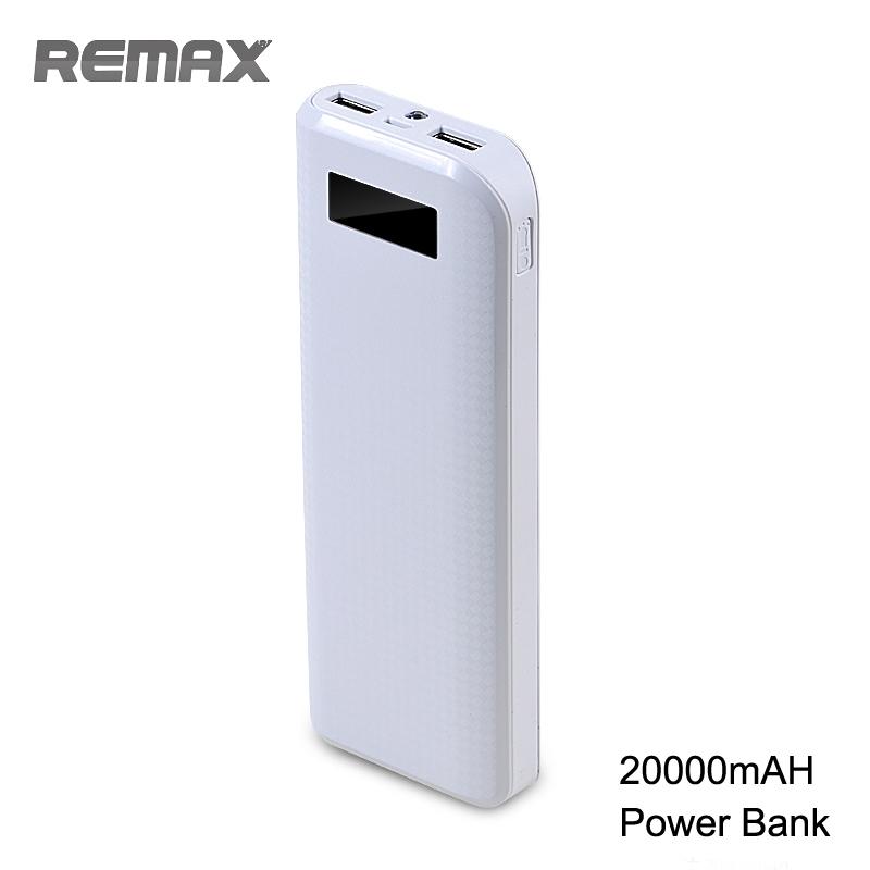 Remax Proda PowerBank 20000mAh, - bílá