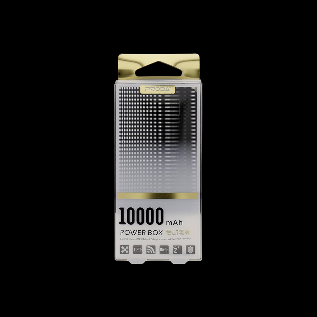 Remax Proda PowerBank 10000mAh Li-Pol Black (EU Blister)