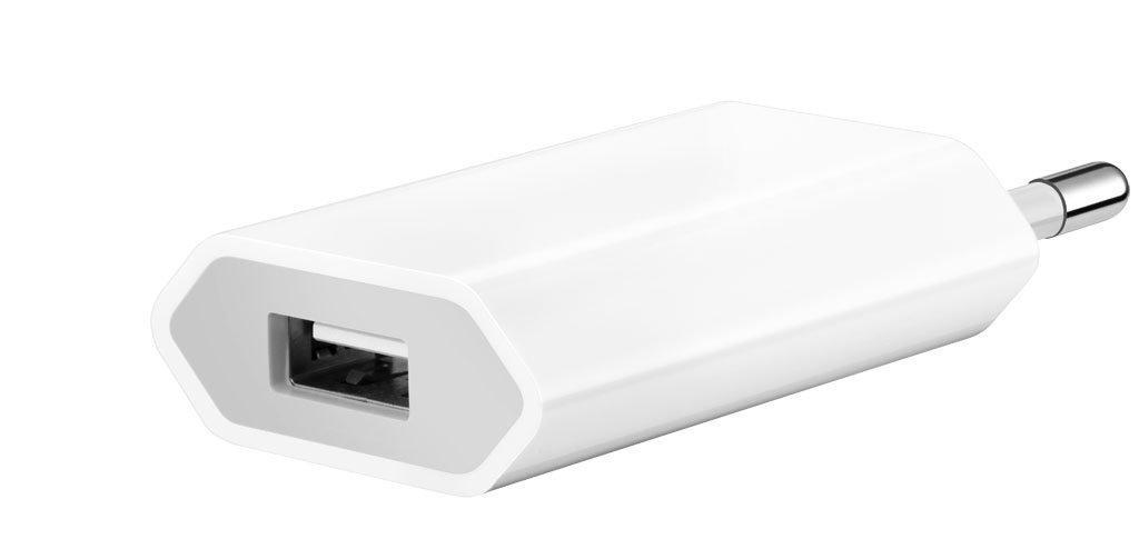 USB nabíječka originální iPhone A1400, 1xUSB, 1A, (Bulk) A1400