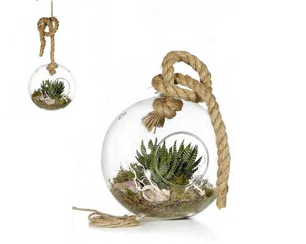 Ritzenhoff & Breker kulatá váza Giardino, 20 cm