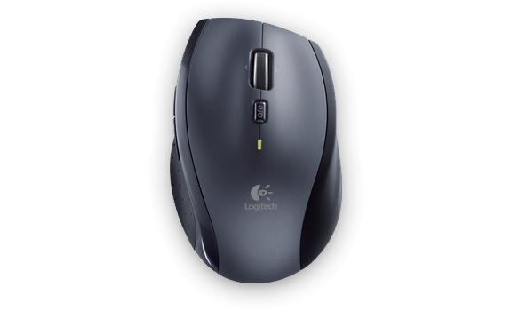 myš Logitech Wireless Mouse M705 nano,silver 910-001949