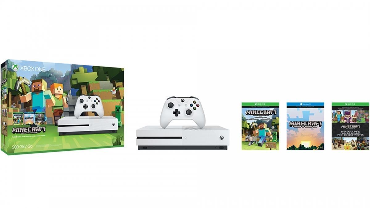 XBOX ONE S 500 GB + 1 x hra (Minecraft Favorites) ZQ9-00047