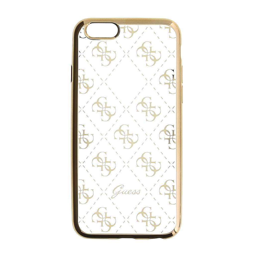 Zadní kryt Guess 4G GUHCP6TR4GG pro Apple iPhone 6/6S/7 - zlatý