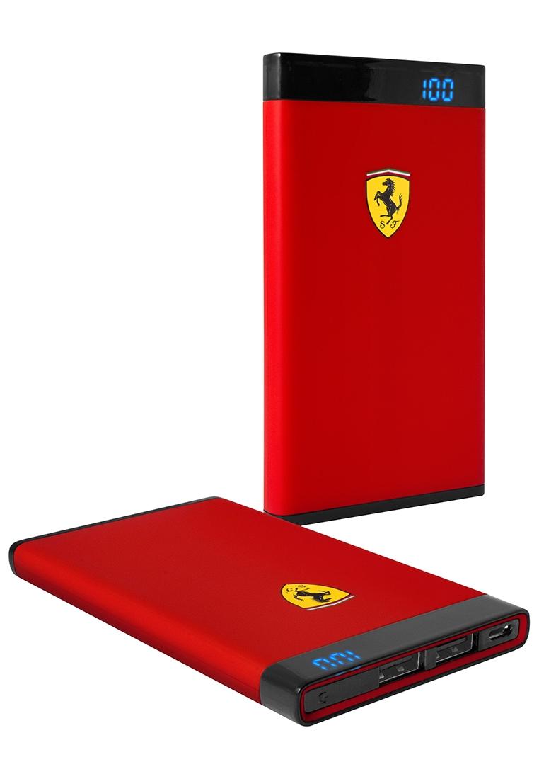 Externí baterie Ferrari PowerBank FEPBI812RE, 12000mAh, červená