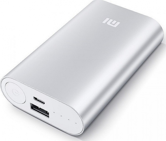 Xiaomi Mi Power bank 10000 mAh (NDY-02-AN) - stříbrná NDY-02-AN