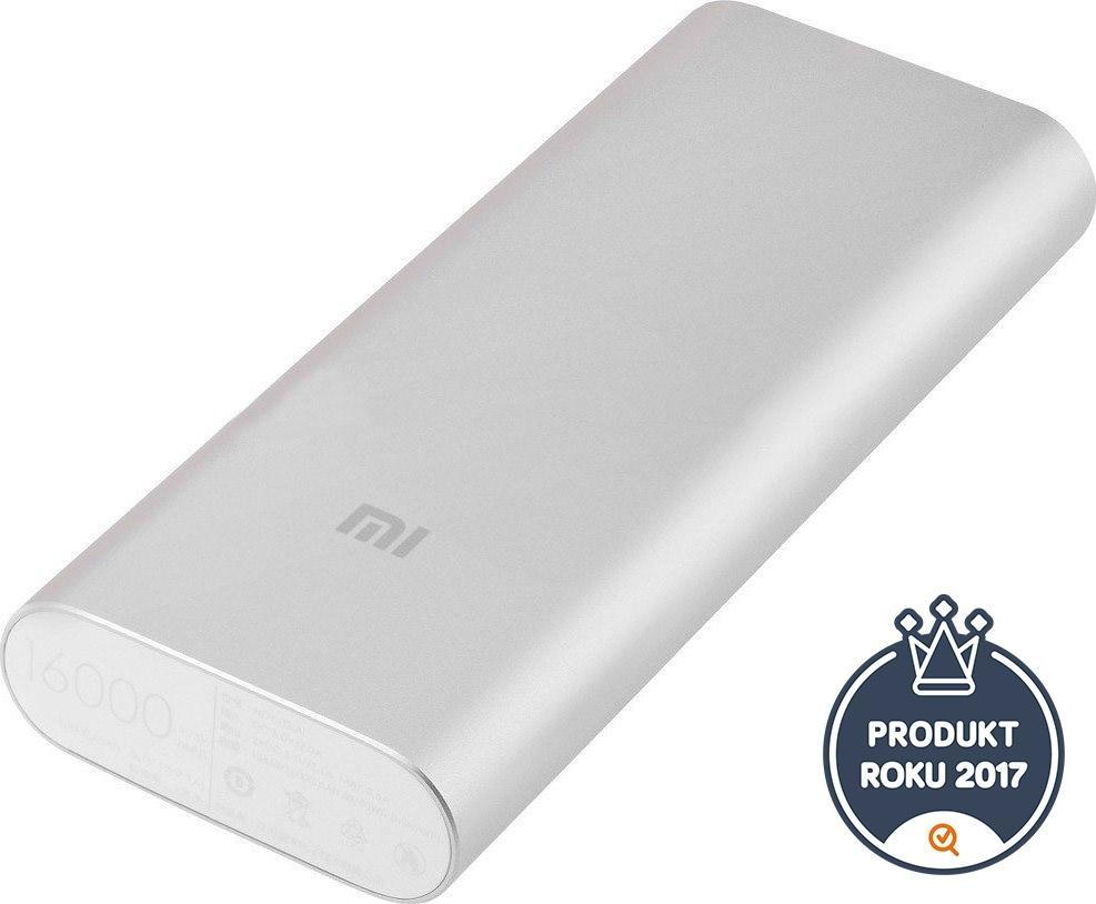 Xiaomi Power bank 16000 mAh Silver (NDY-02-AL) NDY-02-AL
