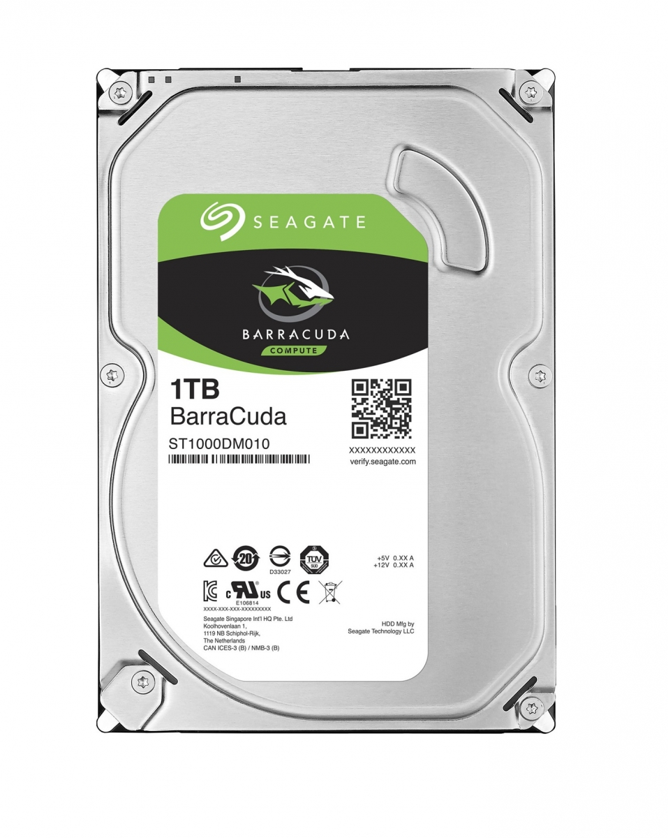 HDD 1TB Seagate BarraCuda 64MB SATAIII 7200rpm 2RZ ST1000DM010