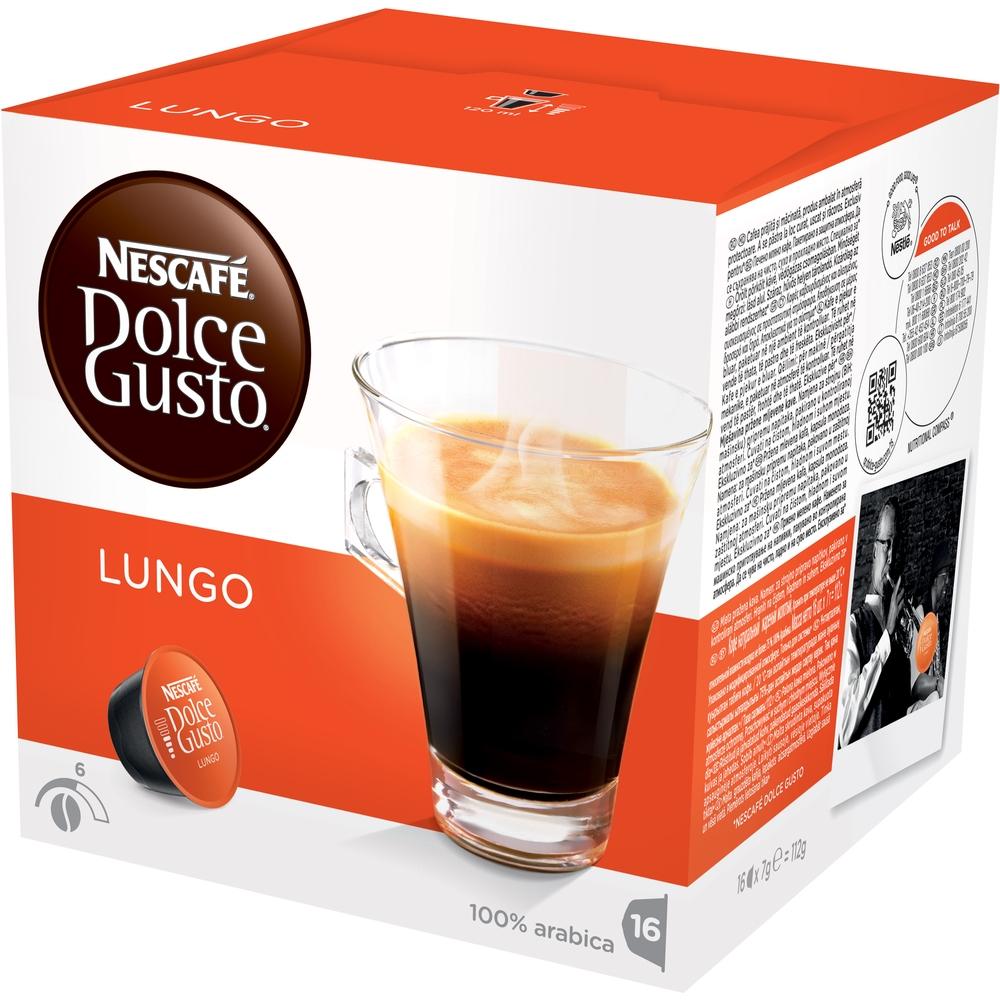Kapsle NDG Lungo - 1 balení