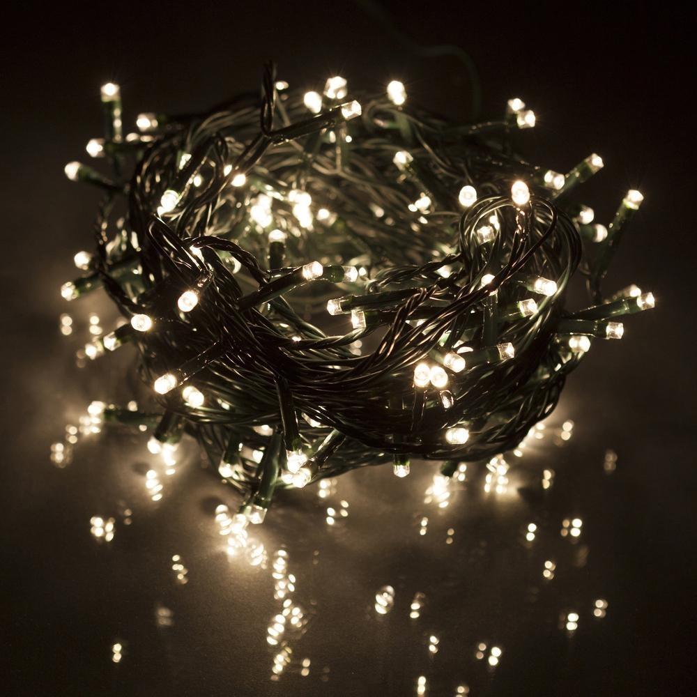 Vánoční LED řetěz Retlux RXL 1, 150 LED, IP44, teplá bílá, 15+5 m