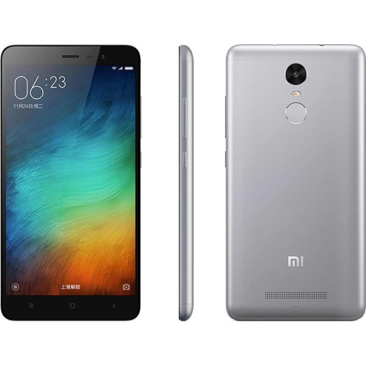 Xiaomi Redmi Note 3 Pro, 16 GB - šedý PH2210