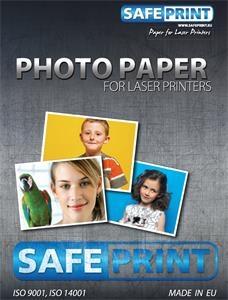 Papír Safeprint foto pro laserové tiskárny A4 matný, 200 g/m2, 10ks 2030061018