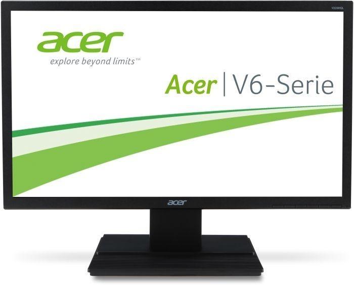 "22"" LCD Acer V226HQLbd - 5ms, 100M:1, DVI, 250cd, černý (UM.WV6EE.005) UM.WV6EE.005"