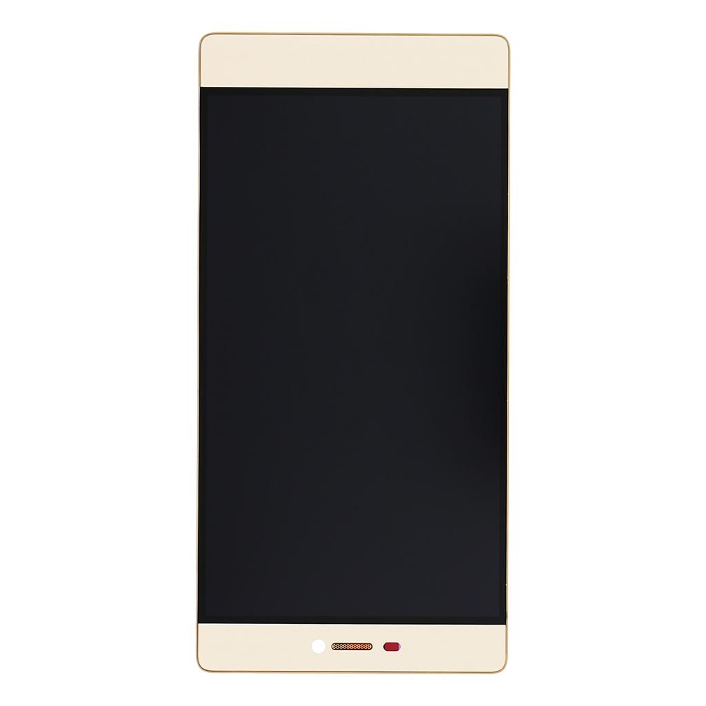 Huawei Ascend P8 LCD Display + Dotyková Deska + Přední Kryt Gold