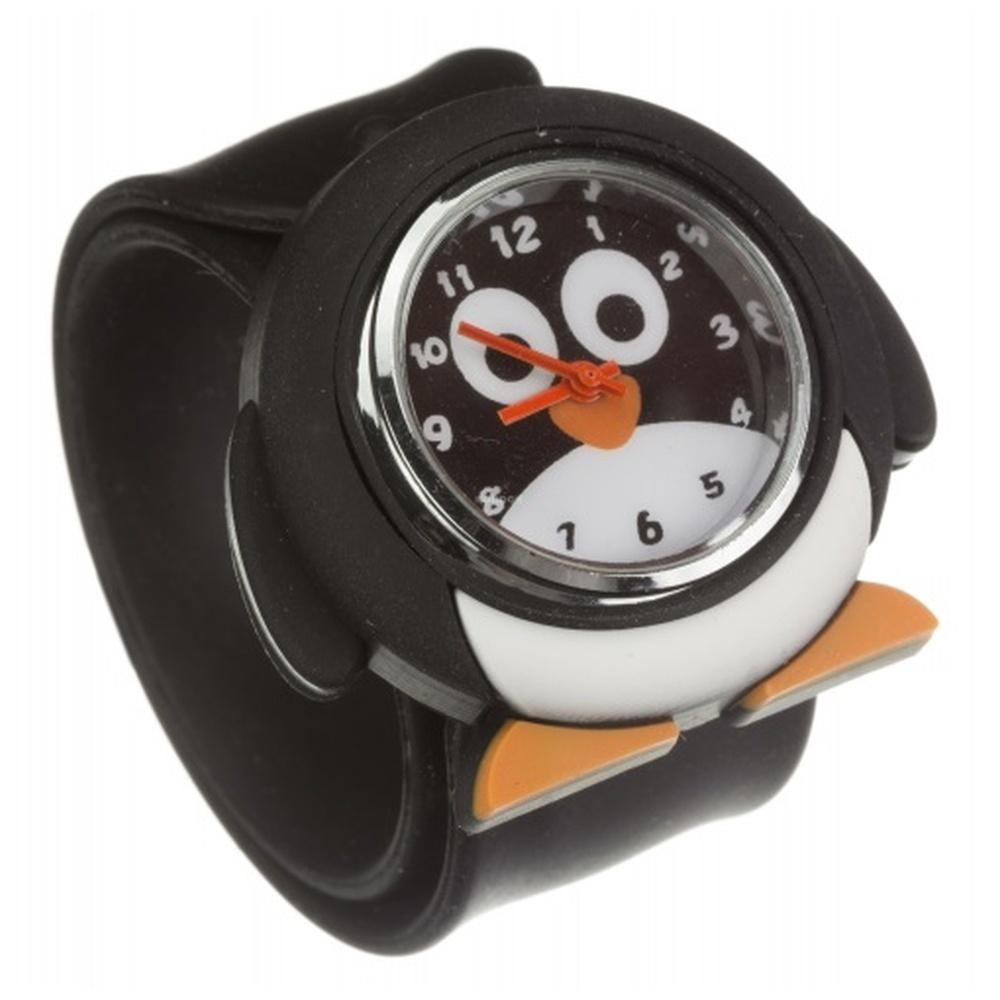 Dětské hodinky MY DOODLES PENGUIN, univerzální velikost, silikonový pásek DDPENWT