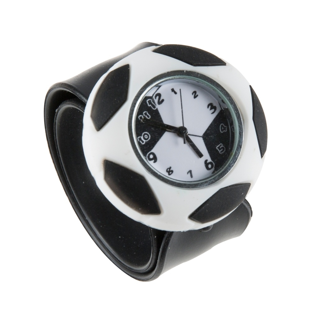 Dětské hodinky MY DOODLES FOOTBALL, univerzální velikost, silikonový pásek DDFTBWT