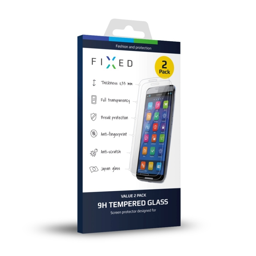 2 ks - Ochranné tvrzené sklo FIXED pro Honor 5C/7 Lite FIXGT-098-033