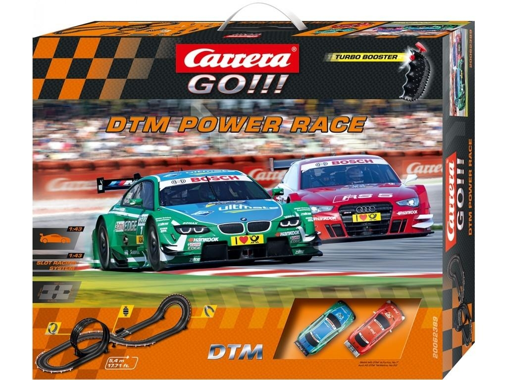 Autodráha Carrera GO 62389 DTM Power Race
