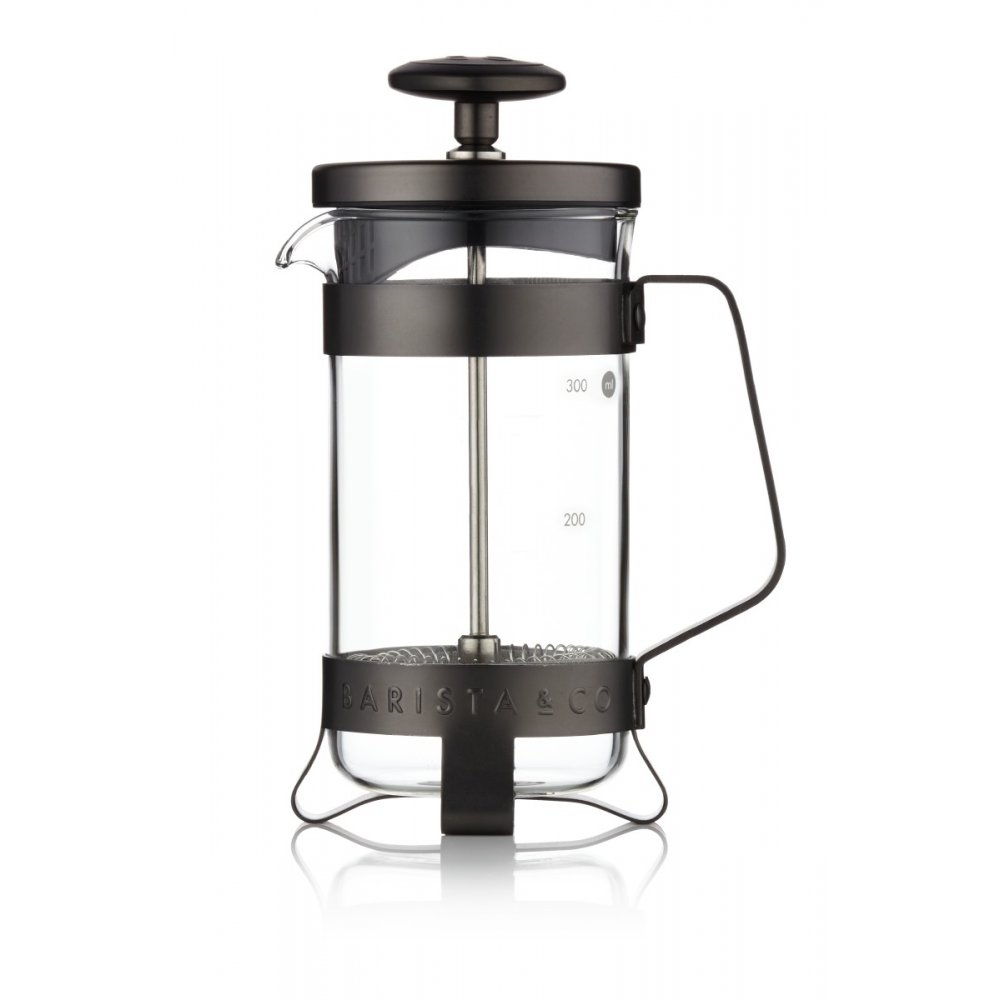Barista & Co French press, 300 ml - Gunmetal