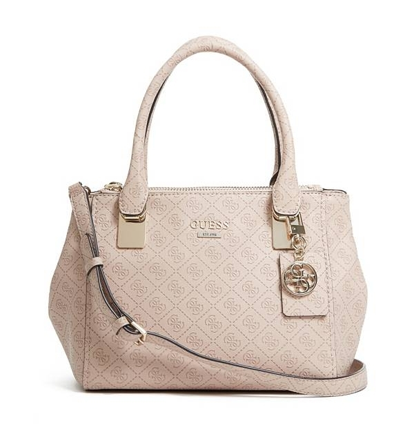 Guess Shantal Small Bag, světle růžova (Light Rose)