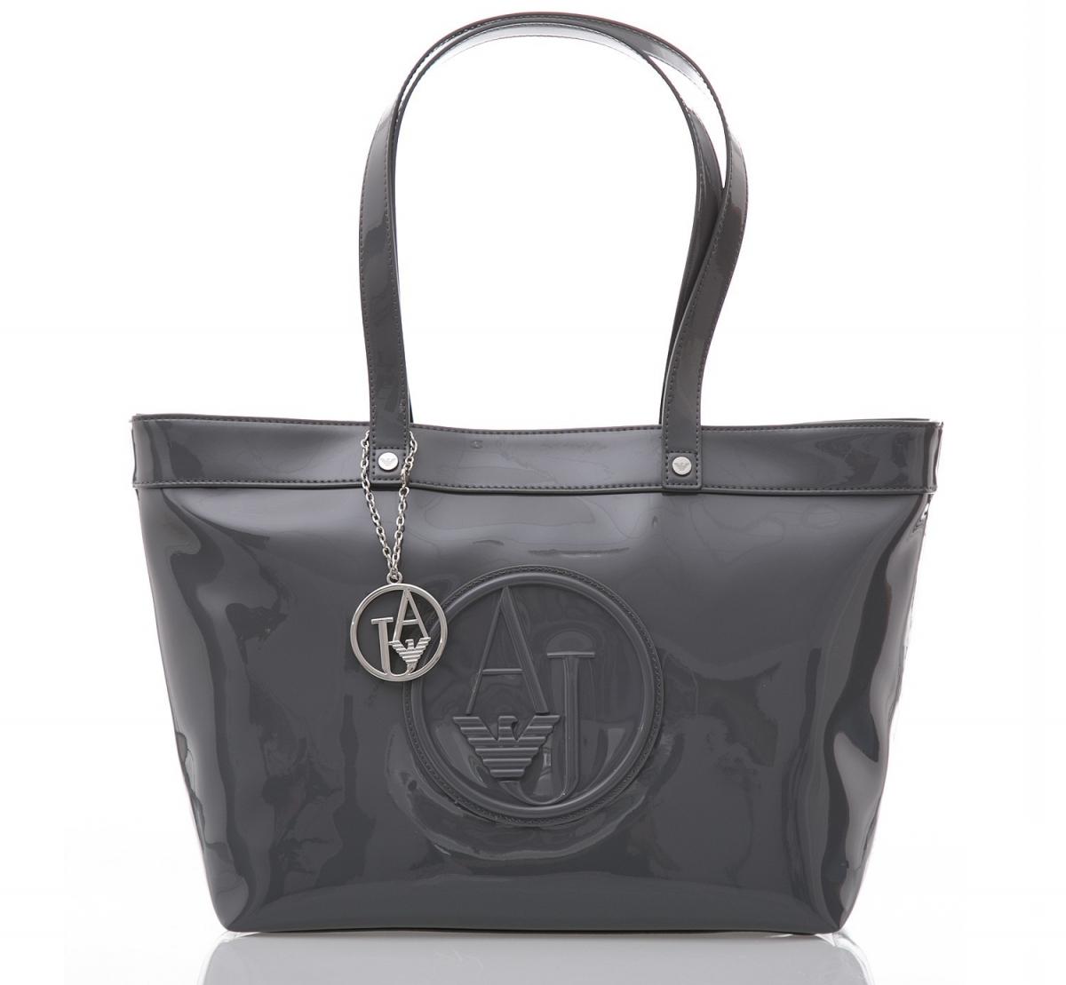 Armani Jeans Borsa Shopping - šedá