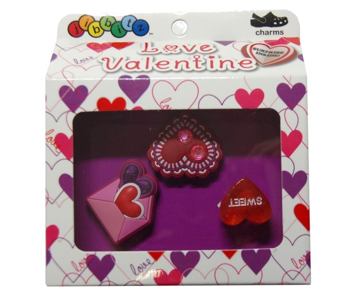 Jibbitz odznáčky na boty Crocs Love Valentine Pack, 3ks