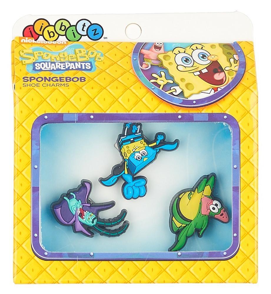 Jibbitz odznáčky na boty Crocs Sponge Bob Pack, 3ks