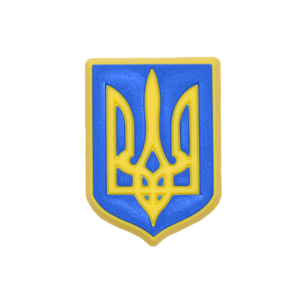 Jibbitz odznáček na boty Crocs Ukraine Coat of Arms